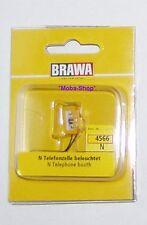 Brawa 4566 n cabina telefónica amarillo, iluminado #63736