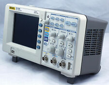 "NEW RIGOL DS1052E Digital Oscilloscope 50MHz 2CH 1 GSa/s 1Mpts 5.7"" LCD 64K USB"