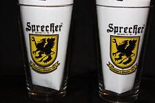 2 Sprecher Brewing Beer Pint Glasses- Established in Milwaukee, Wisconsin 1985