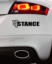 Eat Sleep Stance Bumper Sticker Funny Car Window Paintwork Sticker Vinyl Decal