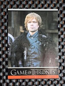 GAME OF THRONES SEASON ONE PROMO CARD  P4  Tyrion; Philly Non-Sport Show