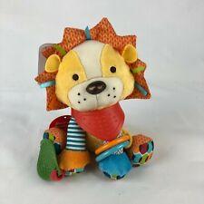 New Skip Hop Bandana Buddies Activity Lion Teething Plush Baby Toy