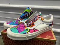 Vans Old Skool 36 Dx Anaheim Factory Hoffman Colorful Floral Sz 12 VN0A38G219Z