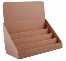 Stand-Store 18-Inch 4 Tier Cardboard Greeting Card DVD Games Display Stand Craft