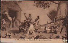 POSTAL MONASTERIO DE EL ESCORIAL . PALACIO REAL . GOYA VENTA NUEVA .TIENDACC2892