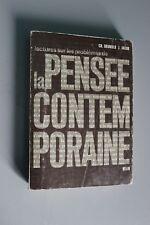Lectura en los problemas de la pensamiento contemporáneo Brunold Jacob - Belin