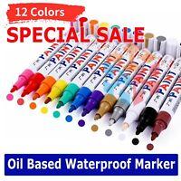 Waterproof Permanent Paint Marker Pen for Car Tyre Tire Tread Rubber Metal Wood