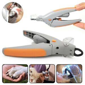 Krallenzange Krallenschere Nagelschere mit LED Licht Nagelknipser für Hund Katze
