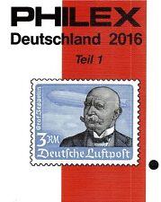 Philex Deutschland Duitsland Germany Allemagne Katalog catalogue 2016 Reich DDR