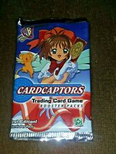Card Captor Trading Card Game First Edition Booster pack