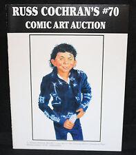 Russ Cochran's Comic Art Auction #70 Catalog - MAD Michael Jackson (VF) 4/19/05