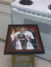Shane Battier Miami Heat Signed 11x14 Framed Trophy Photo Duke Blue Devils