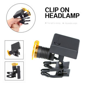 Dental 3W LED Wireless Headlight with Optical Filter for Medical Loupes DY-010