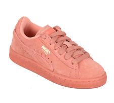 PUMA Little Kid's Suede Classic Shoes sz 1Y 1 Desert Flower Pink Pre-School PS