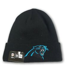 Carolina Panthers Folded Black Beanie NFL New With Tags OSFM 50177b37c