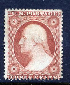 Bigjake: #26, 3 cent Washington, NG - Double Frame line on Right