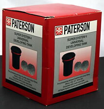 New Paterson Super System 4 Universal Film Developing & Processing System Tank