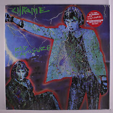 CHROME: Red Exposure LP Sealed (limited edition red vinyl reissue) Rock & Pop