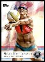 2012 TOPPS OLYMPICS SILVER MISTY MAY-TREANOR BEACH VOLLEYBALL #40 PARALLEL