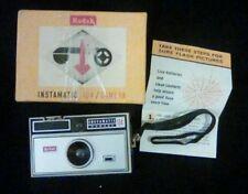 Vintage Kodak Instamatic 104 Camera with box & strap.