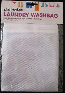 Laundry Washing Bag Washbag Lingerie Delicates Mesh Clothes Zip LGE XL Bag BNWT