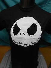 Mens Licensed Nightmare Before Christmas Jack Skellington Big Face Shirt New S
