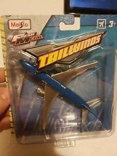 Maisto Fresh Metal Tailwinds Boeing 777-200 BLUE & CHROME. NEW!