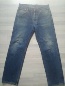 jeans hommes Levi's 501 W36 W33 l34