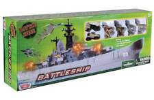 Motormax Giant USS Battleship- Kids Toys New