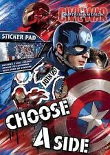 Marvel Captain America Civil War Sticker Pad