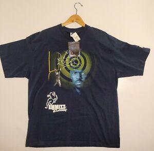 VTG NWT Starter Men's XL Emmitt Smith Dallas Cowboys Blue Emmitt Zone T-shirt