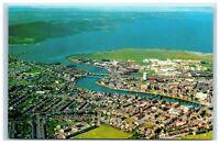 Picture Postcard Inverness Scotland aerial view