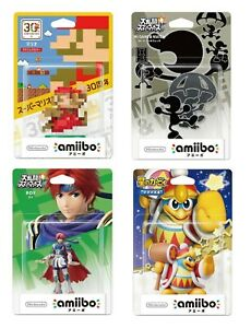 Nintendo amiibo Figures for Nintendo Switch Japan Import Pick & Choose