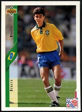 Bebeto, Brasil #58 World Cup USA '94, (Eng/Ger) Card  (C385)