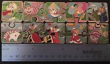 Disney Alice in Wonderland Character Connection Complete Mystery Puzzle LE Pins