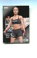 2015 TOPPS UFC KNOCKOUT RONDA ROUSEY SILVER CARD #68  #ed to 199