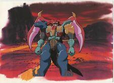 Megatron :Transformers Original Anime Production Cel, Background & Pencil Sketch