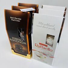3 Ferrero Rondnoir Dark Chocolate + 3 Ferrero Raffaello Almond Coconut (6 Pack)