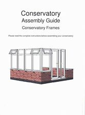 Conservatory and porch building instructions