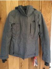 Womens Girls North Face Ravina Waterproof Coat Jacket Grey Extra Small Xs NEW