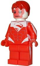 **NEW** LEGO Custom Printed - RED SUPERMAN - DC Universe Minifigure