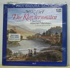 Paul Badura-Skoda MOZART Piano Sonatas Vol.3 - Eurodisc 3LP 300 349-435 SEALED
