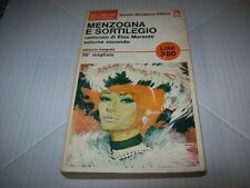 ELSA MORANTE-MENZOGNA E SORTILEGIO VOL.II-GLI OSCAR MONDADORI N.79 BIS-1966