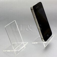 10x QUALITY Acrilico Cellulare Supporto al dettaglio esposizione negozio IPOD FOTOCAMERA-B