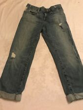 women's distressed Joe's Ex-Lover crop denim jeans sz W 25! Good cond!MSRP $189