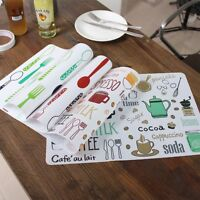 Mat Cotton Linen Place Mat Table Mat For Dinner Kitchen Accessories Coasters