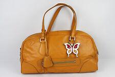 Sac ZA (Zara) Cuir Orange Fauve Cuir bovin et Agneau Cadenas TBE