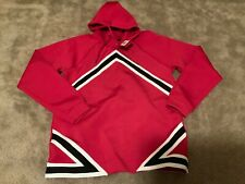 Jordan Tech Fleece Hoodie Red White Black Style #AO9284-687 New Men's Sz Large