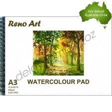 A3 Watercolour Pad 280gsm Atrist Painting Art Paper Sketchbook Sketch Drawing