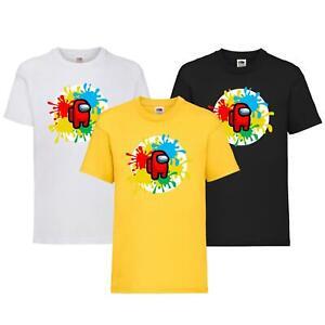 New Boys Girls Impostor T-Shirt Children In Need 2021 School Event Kids Tee Top
